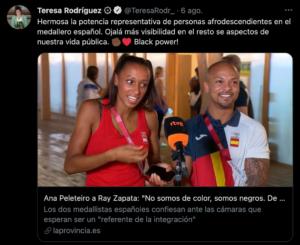 Tweet Teresa Rodríguez
